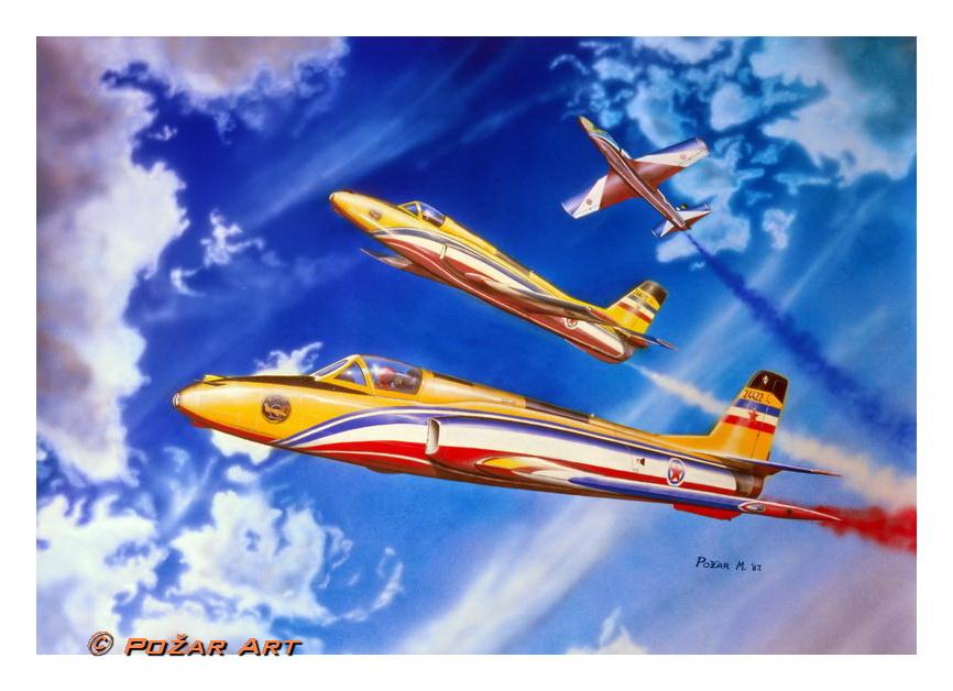 Požar Art Airstars