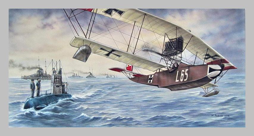flote. Poznati hidroavioni Lohner bili su česta pojava na