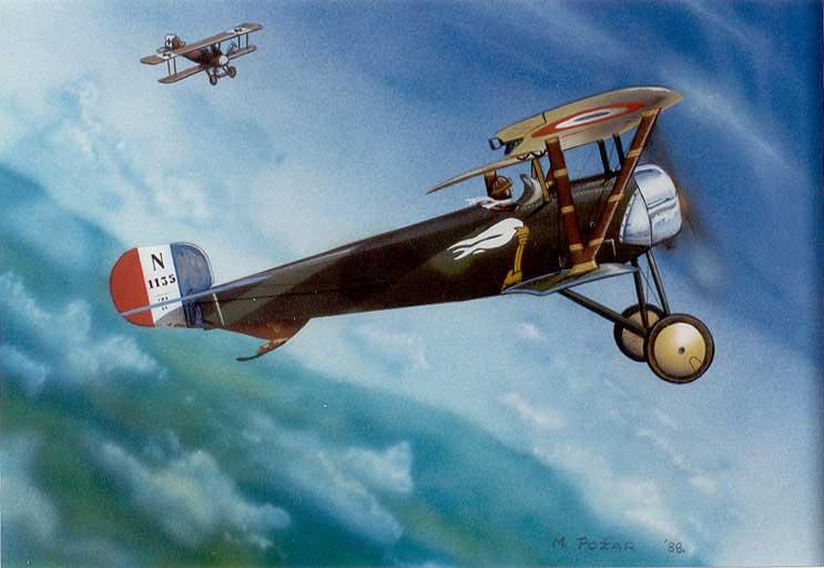 Požar Art Nieuport11